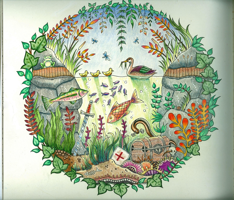 Followed Peta Hewitt Tutorials Pat O Enchanted Forest