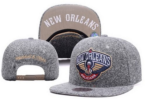 b999b859d9c NBA New Orleans Pelicans Snapback Hats Coarse Gray Blurred