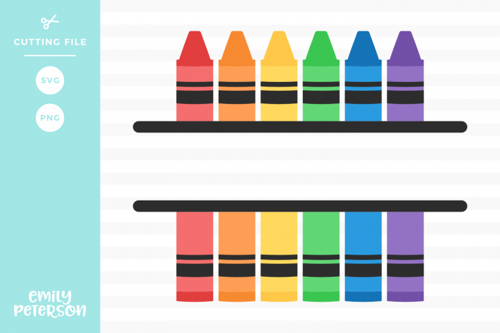 Monogram Crayons Svg Dxf Eps Png 123017 Svgs Design Bundles Creative Math Cricut Crafts Free Monogram