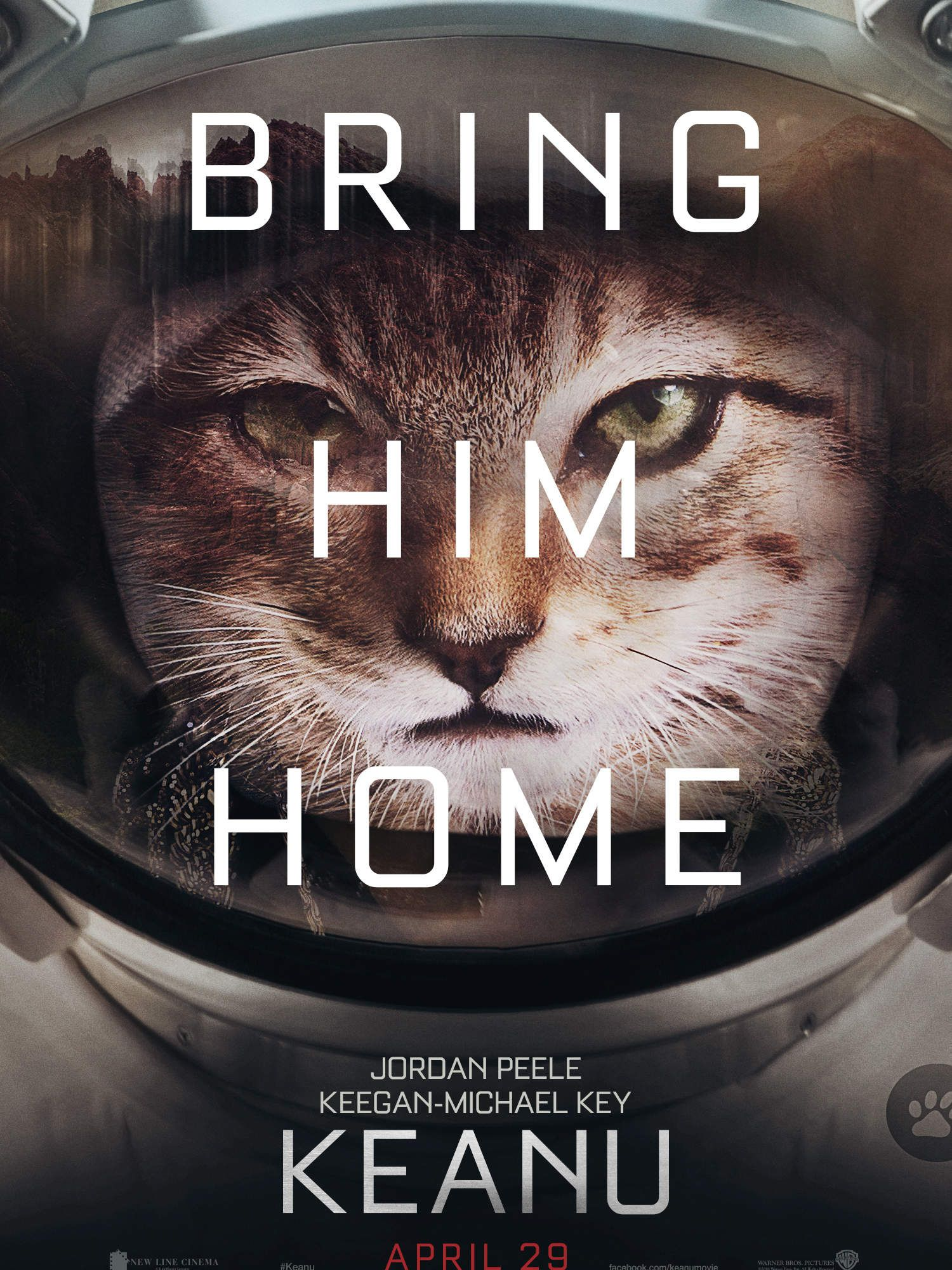 Keanu The Kitten S Oscar Parody Posters Are Adorable Best Movie Posters Oscar Movies Oscar Nominated Movies