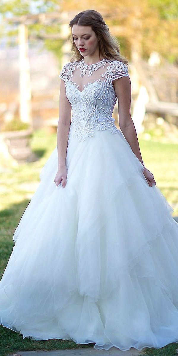 30 Ball Gown Wedding Dresses Fit For A Queen | Ball gowns, Wedding ...