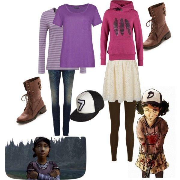 Clementine Walking Dead Game Season 1 2 Fandom Outfits