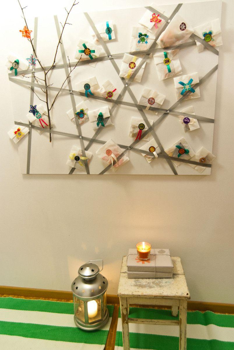 diy adventskalender basteln adventskalender pinterest. Black Bedroom Furniture Sets. Home Design Ideas