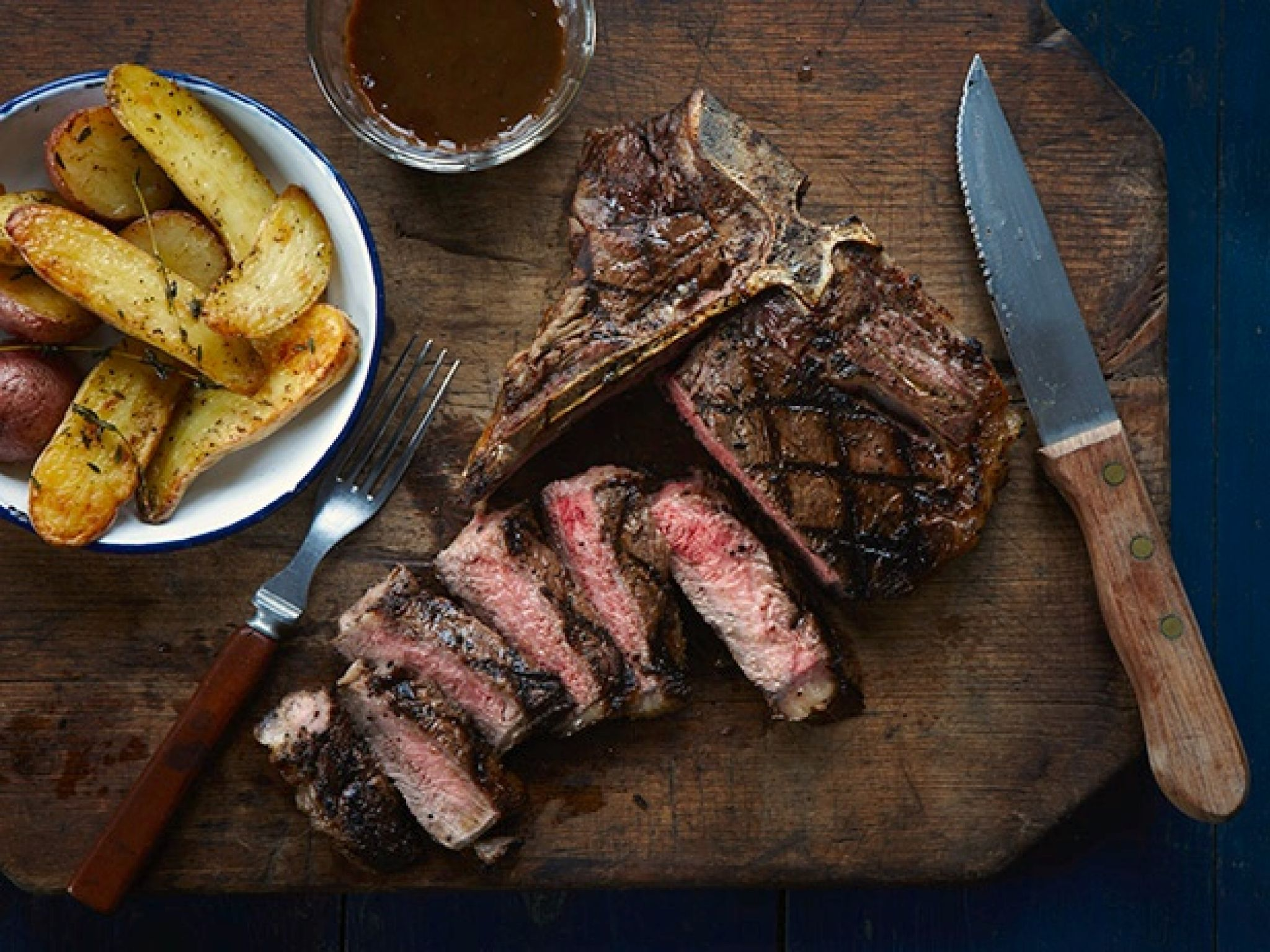 Check out caesar t bone steak with stout pan sauce its so easy food forumfinder Image collections