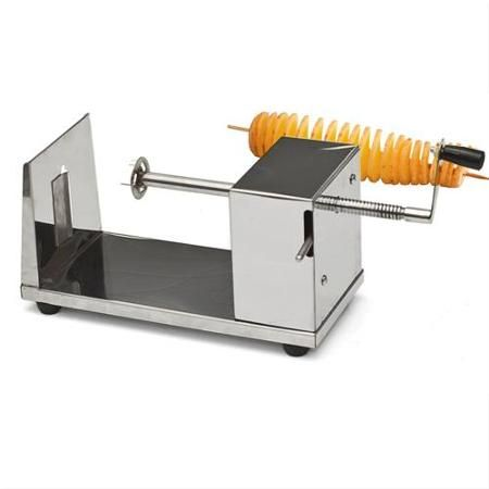 Manual Stainless Steel Twisted Potato Slicer Spiral