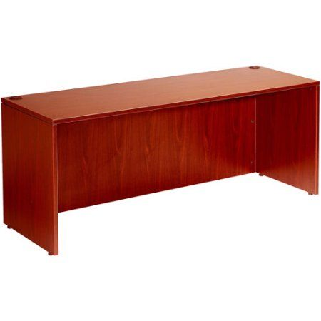 Boss Office Products 48 inch Executive Desk Shell, Multiple Finishes