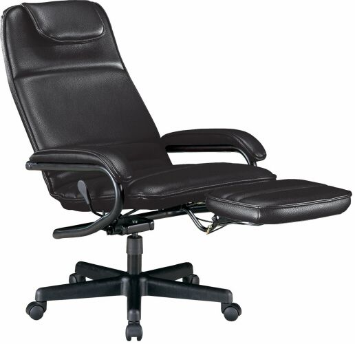 Reclining Office Chair The Foot Rest Collapses Down Can Easily Make This A Mage