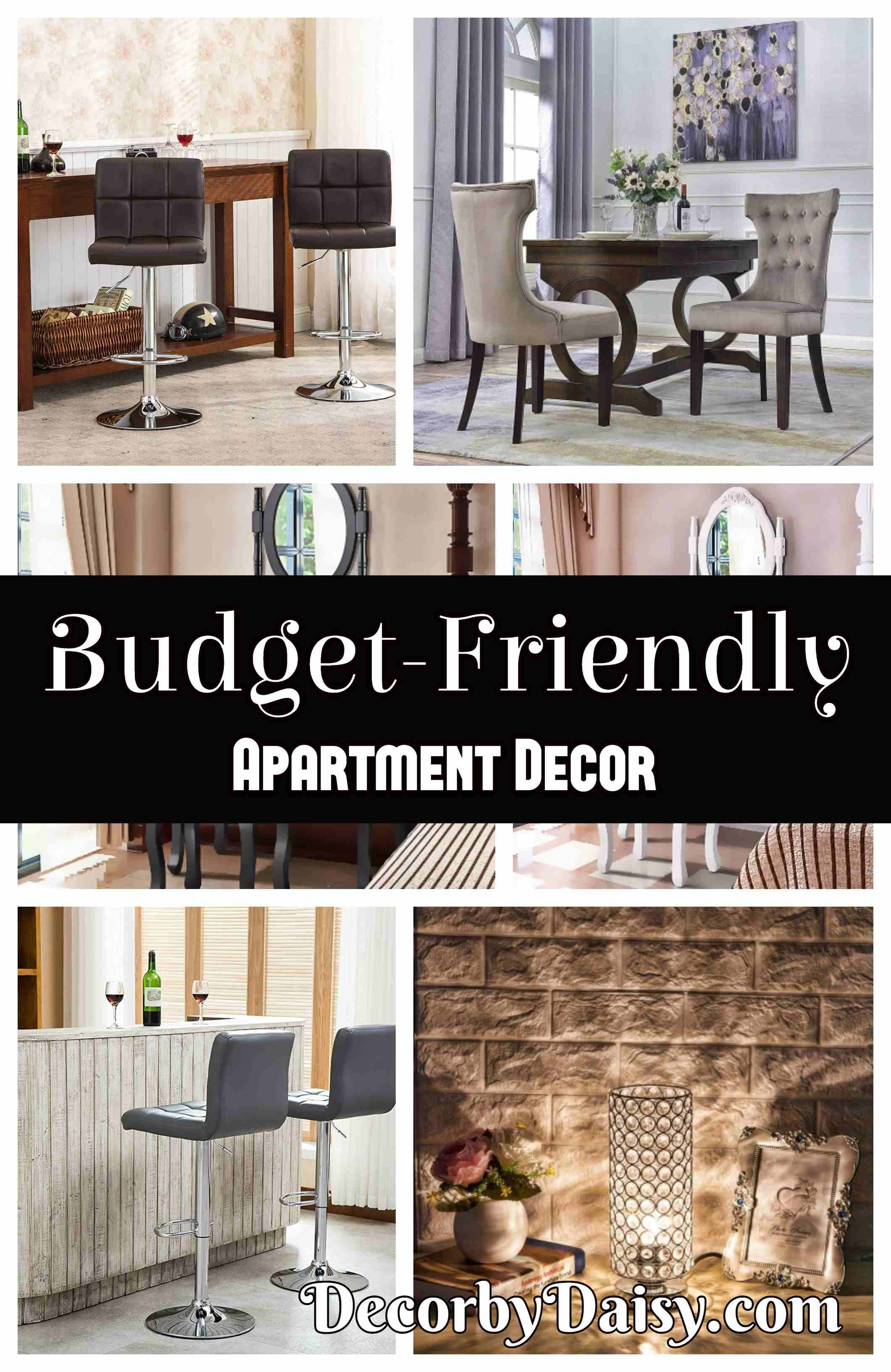 Simple And Budget Friendly Ways To Make Your Decorate Apartment On A While Making It Look Expensive