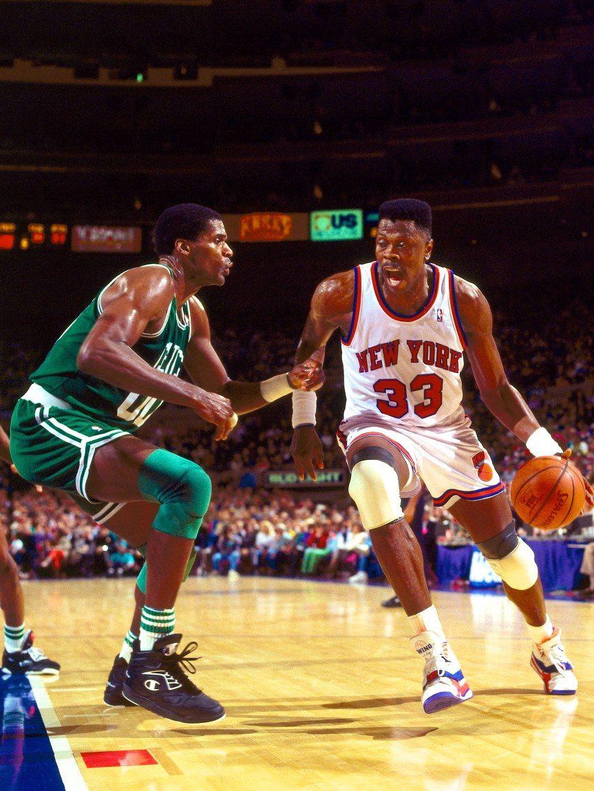 Nba Basketball New York Knicks: Reeditan Las EWING Focus Que Calzada Pat Ewing En Sus