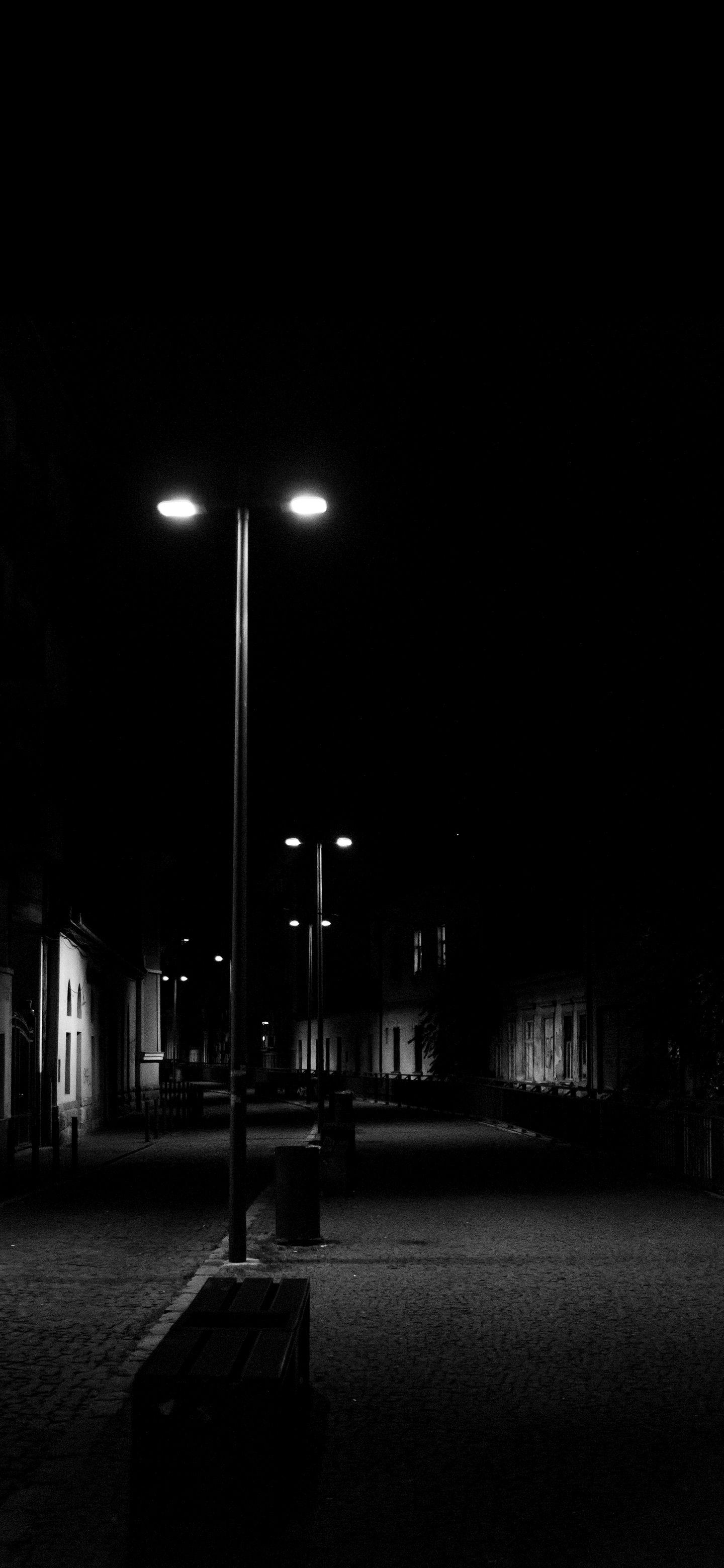 Empty Street Dark Street Dark Wallpaper Wallpaper