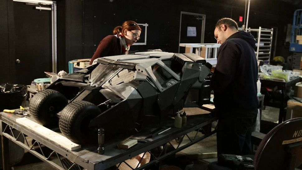 Cool article about the miniature vehicles used in The Dark Knight.