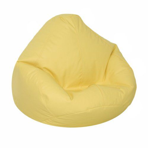 Lifestyle Bean Bag Large Yellow American Furniture Alliance