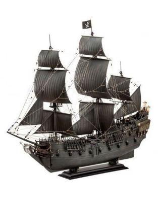 Maqueta Barco La Perla Negra The Black Pearl 47 Cm Piratas Del Caribe La Venganza De Salazar Escala 1 7 Maquetas De Barcos Planos De Veleros Perlas Negras