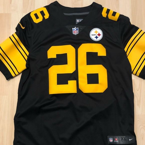 1bca9ea7c77 Steelers Le Veon Bell Color Rush  26 Jersey Authentic Nike color rush Pittsburgh  Steelers
