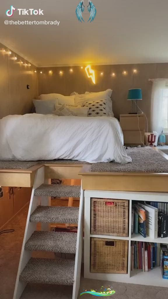 tiktok 478 cool bedroom fyp foryou tiktok on cute girls bedroom ideas for small rooms easy and fun decorating id=14639