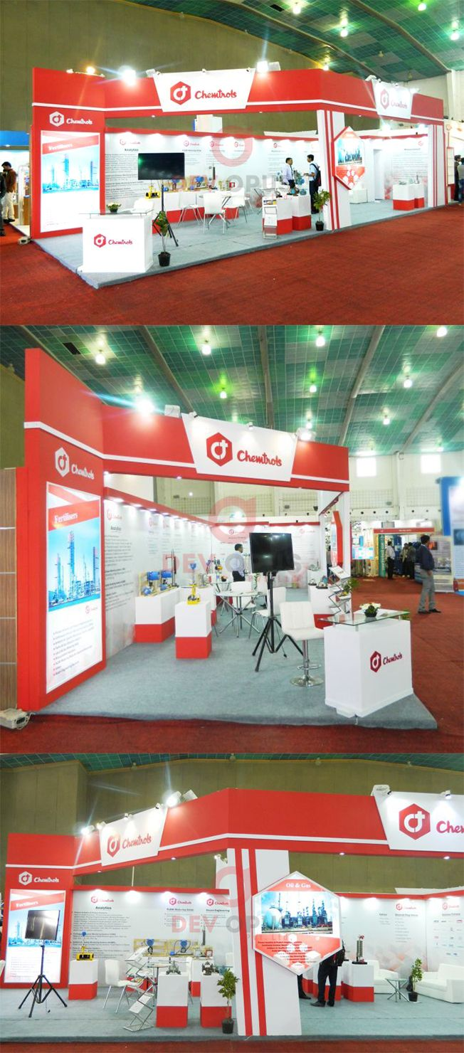 Exhibition Stall Design In Gujarat : Exhibition stall design and fabrication for chemtrols industries in
