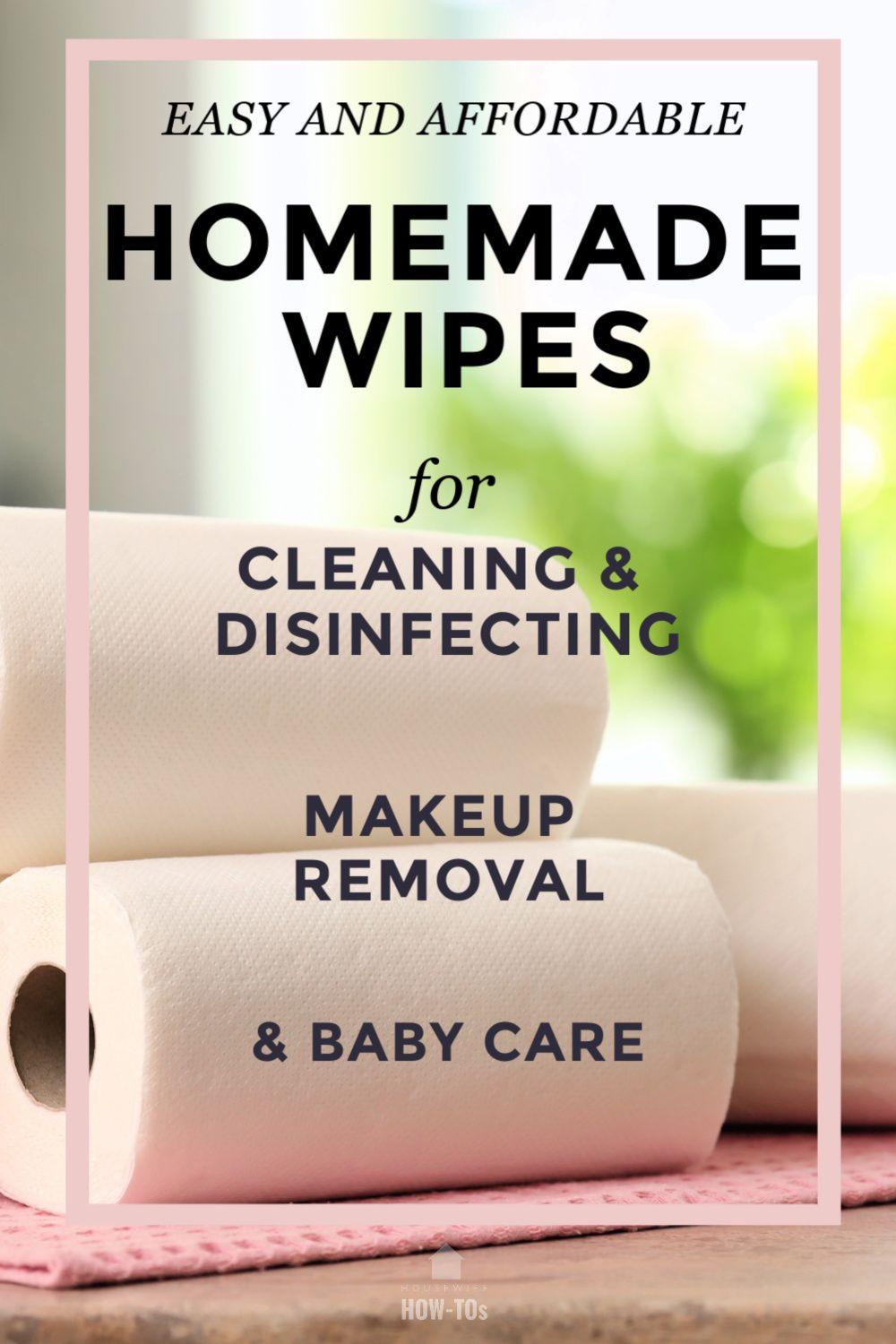 Homemade Disinfecting Wipes Recipe in 2020 Homemade