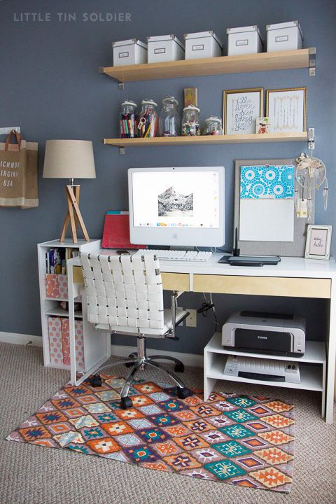 lovely home office storage ideas | lovely tuesday: office space | Home Office Inspiration ...