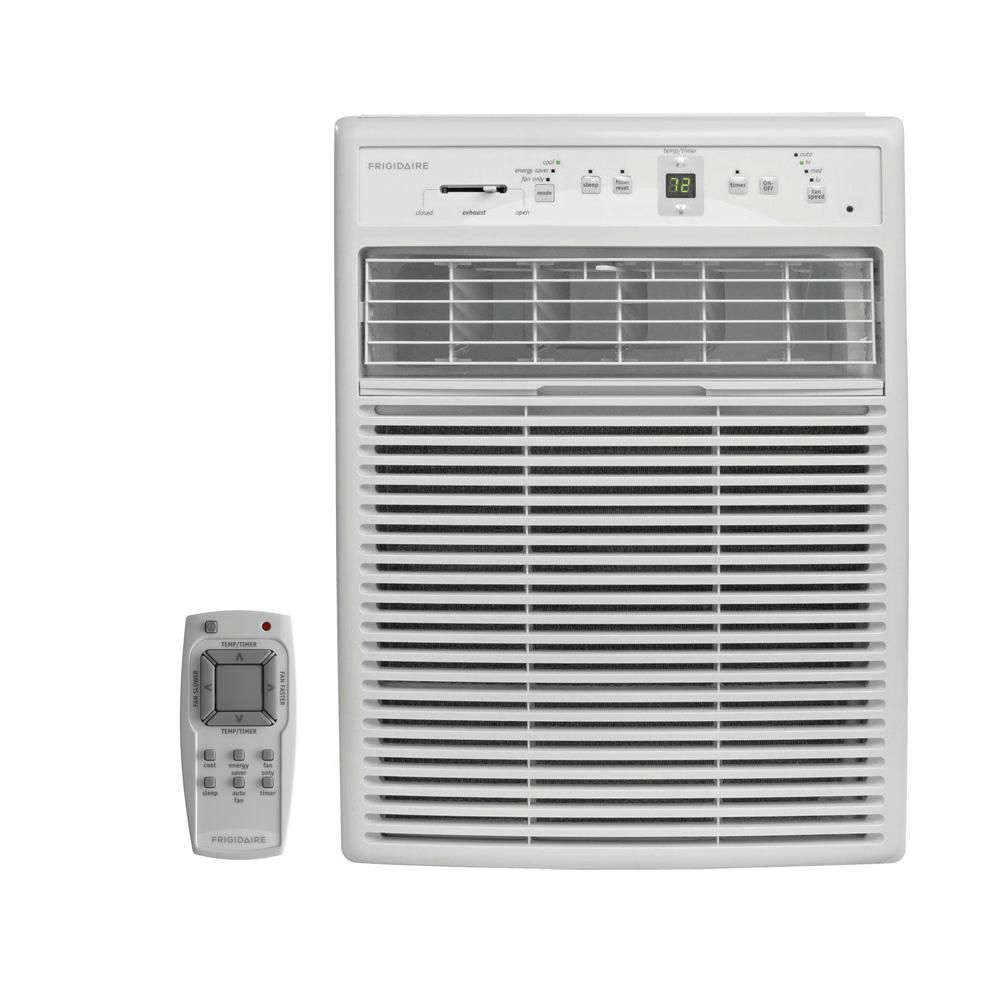 Frigidaire 8 000 Btu 115 Volt Room Air Conditioner With Full Function Remote Control Window Air Conditioner Compact Air Conditioner