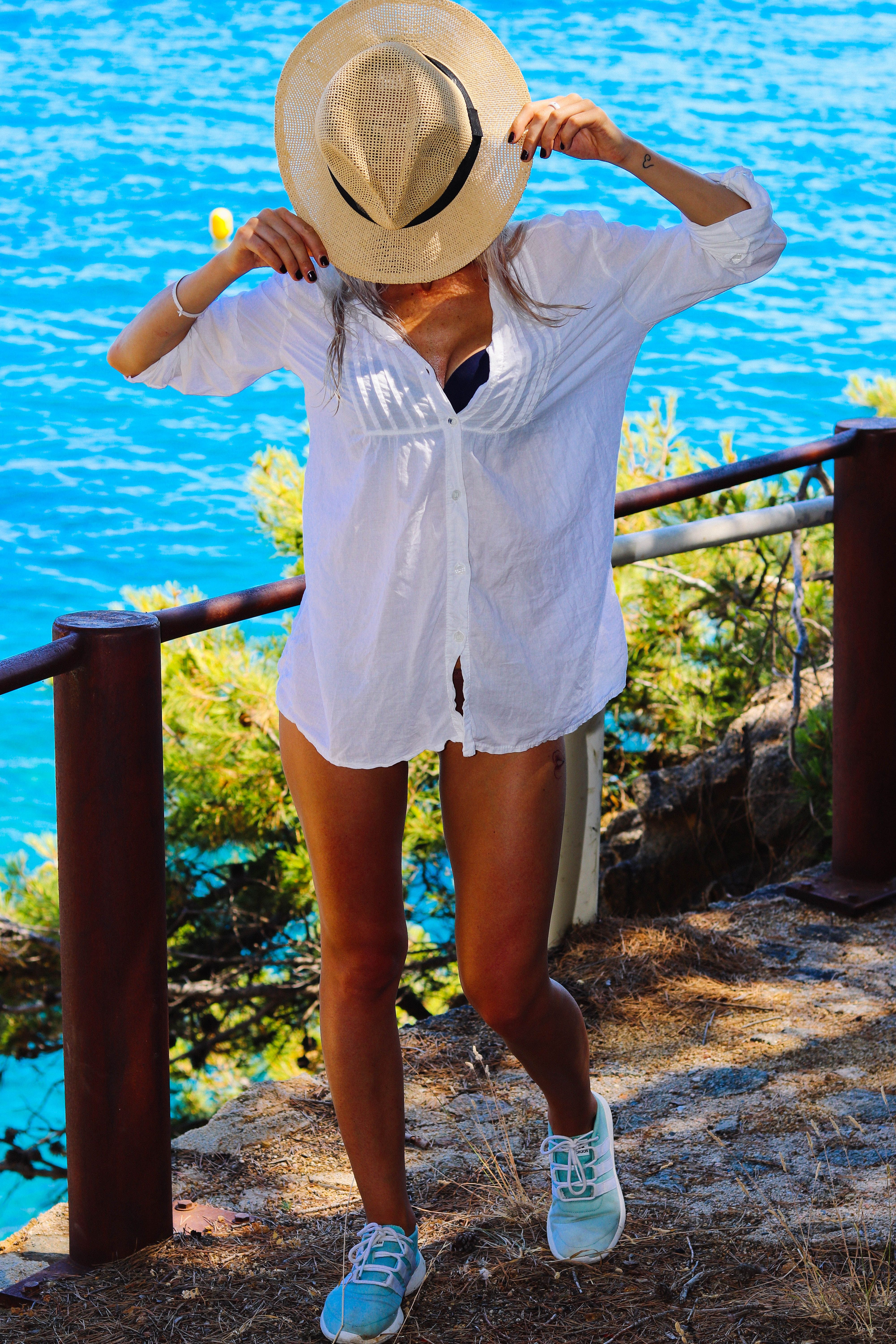 summer outfit, beach outfit, look