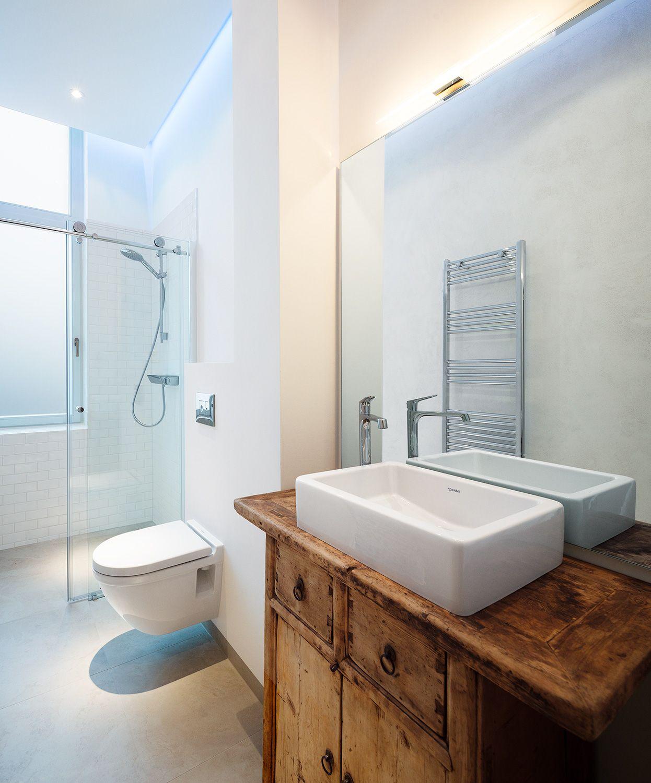 Schöne Kombi mit Holz | Badezimmer, Tolle badezimmer und ...