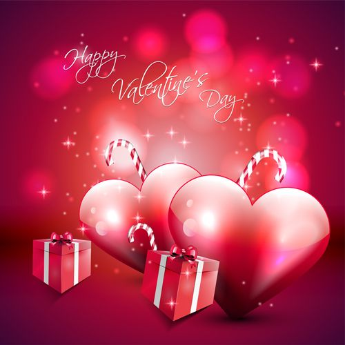 Romantic Love Background With Valentine Vector 03 Cute Valentines Day Quotes Valentines Day Wishes Valentines Day Holiday