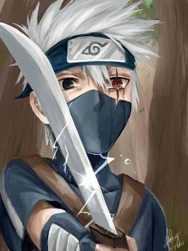 Kakashi Hatake Sharingan No Kakashi Konoha S Sixth Hokage Naruto Naruto Shippuden Anime Kid Kakashi Kakashi Hatake