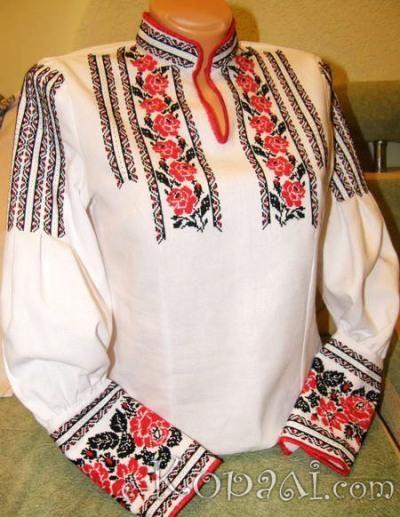 Vyshyvanka (Ukranian embroidered blouse)