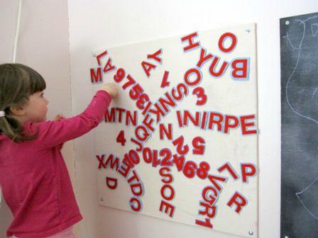 DIY Felt Alphabet Letters for the Felt Board