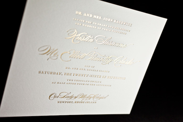 Gold foil wedding invitations to create your wedding invitation with