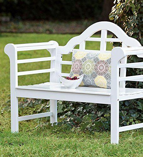 Amazon Com Plow Hearth Sir Edwin Lutyens English Garden Bench