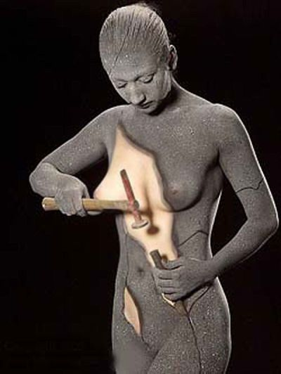 Bodyart El Arte Corporal Es Un Estilo Enmarcado En El Arte