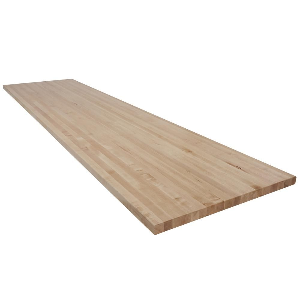 Swaner Hardwood 12 Ft L X 2 Ft 1 In D X 1 5 In T Butcher Block
