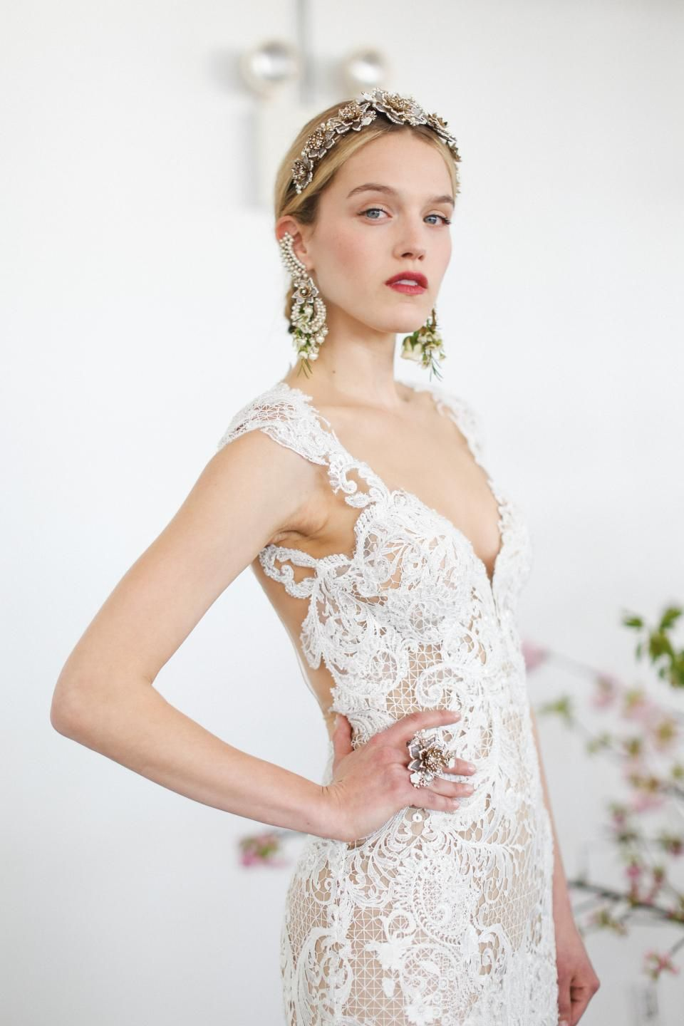 Marchesa Bridal Spring 2017 / Wedding Style Inspiration / LANE