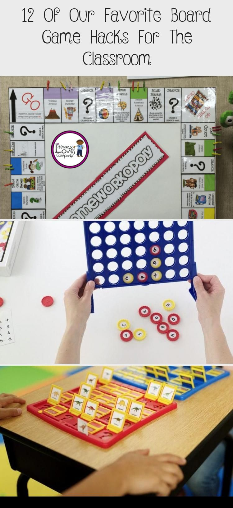 12 of Our Favorite Board Game Hacks for the Classroom. Practice curriculum and have fun at the same
