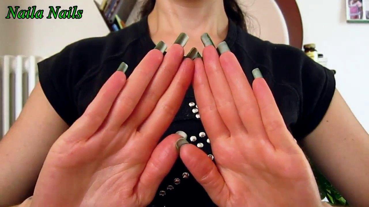 HAND MOVEMENTS + NATURAL LONG NAILS | Naila Nails | Pinterest | Natural