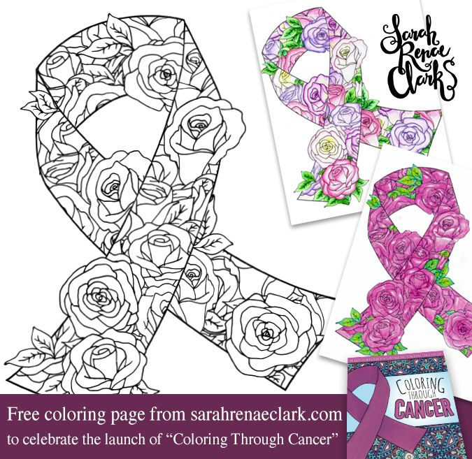 Free Awareness Ribbon Coloring Page Free Coloring Pages