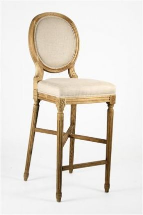 Miraculous French Country Medallion Back Bar Stool French Country Bar Bralicious Painted Fabric Chair Ideas Braliciousco