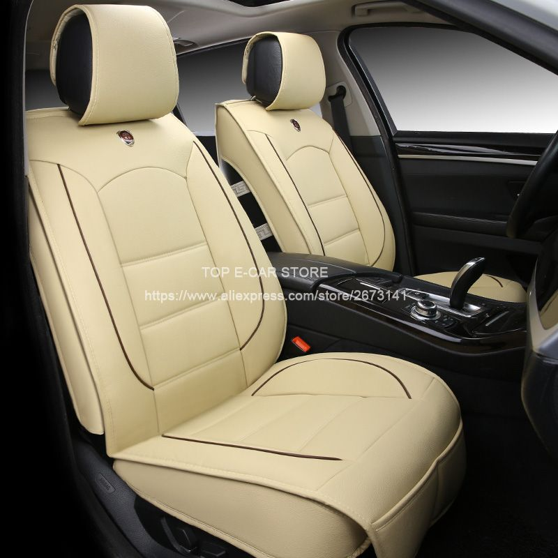 Us 118 80 Car Travel Luxury Leather Car Cushion Seat Covers Universal For Nissan Almera Classic Almera Classic Interior Accessories Car Seats Car Covers