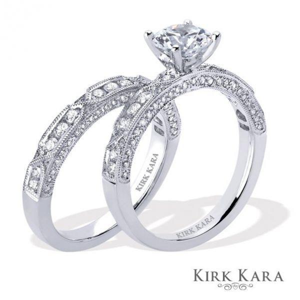 anillos de boda en con oro con blanco pandora