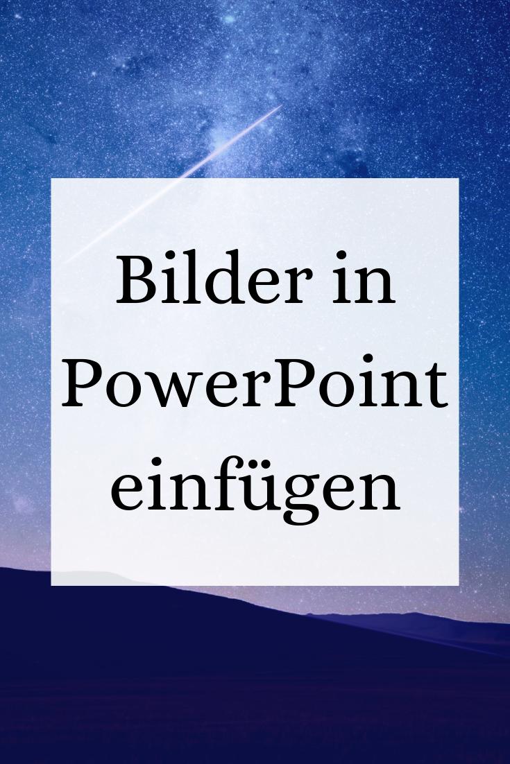 Powerpoint Prasentation Bild Diagramm Oder Form Einfugen Power Point Powerpoint Prasentation Schreiben Lernen
