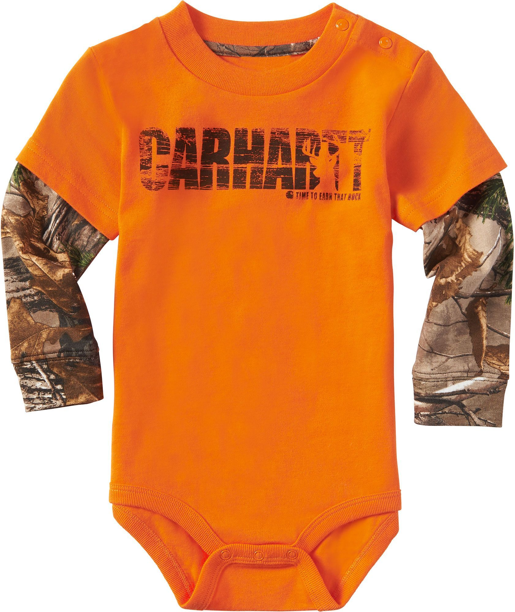 b8a9acfe1 Carhartt Infant Boys' Earn That Buck Long Sleeve Onesie | Products ...