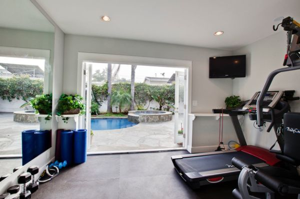 Wondrous Design Ideas Conventional Home Gym Attached With The Download Free Architecture Designs Rallybritishbridgeorg