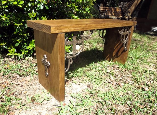 Cross Bench Simple Benches Bench Rustic Crafts