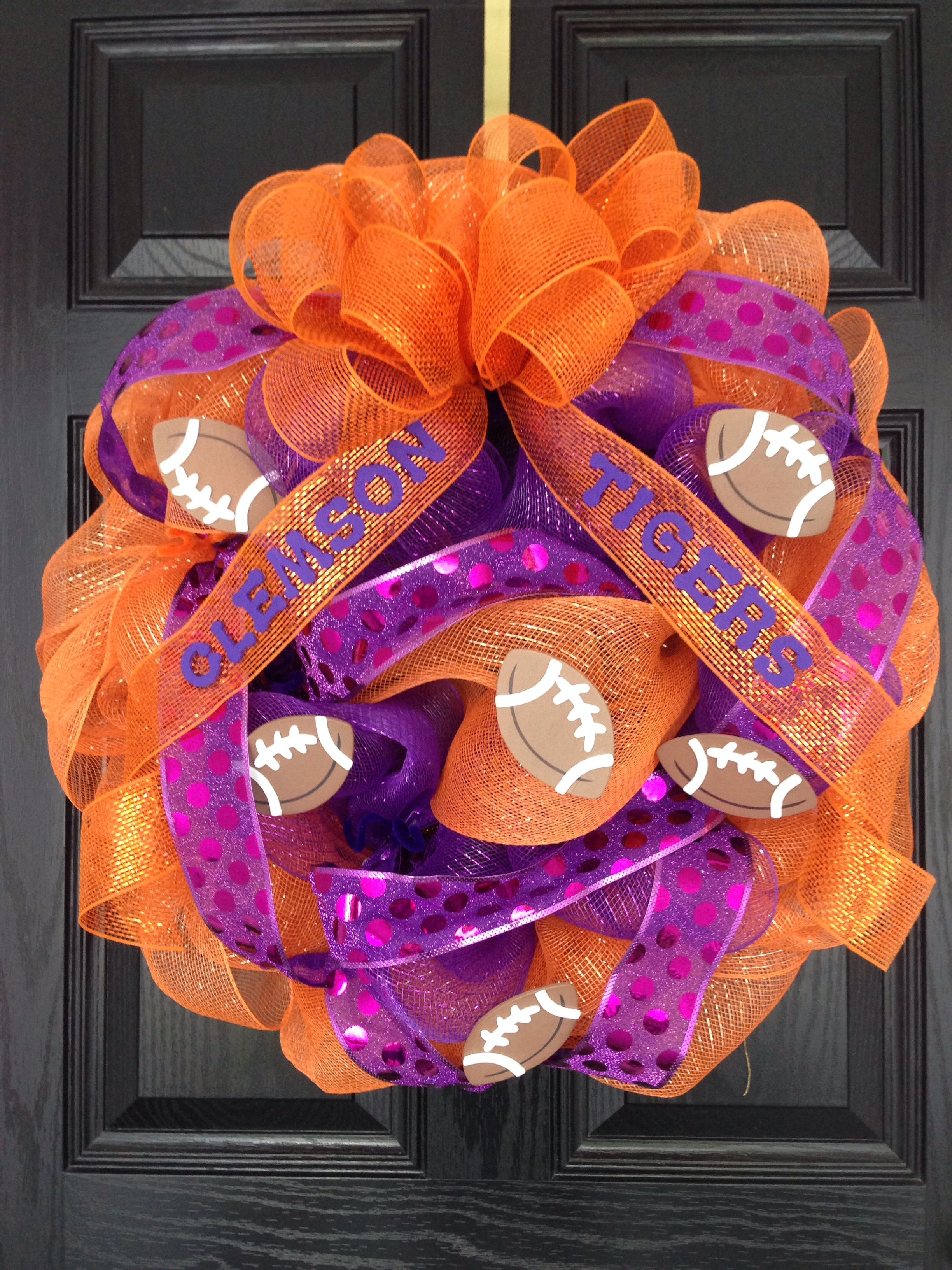 Clemson Pride..!! Go Tigers..!! Roar onto another great football season..!!