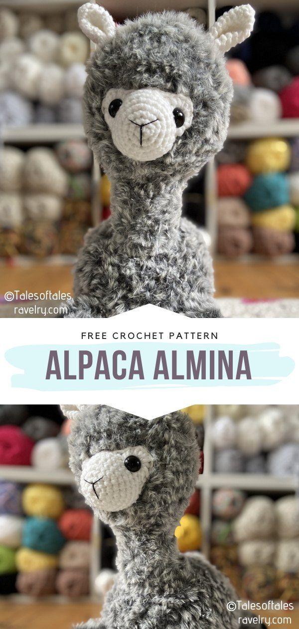How to Crochet Alpaca Almina