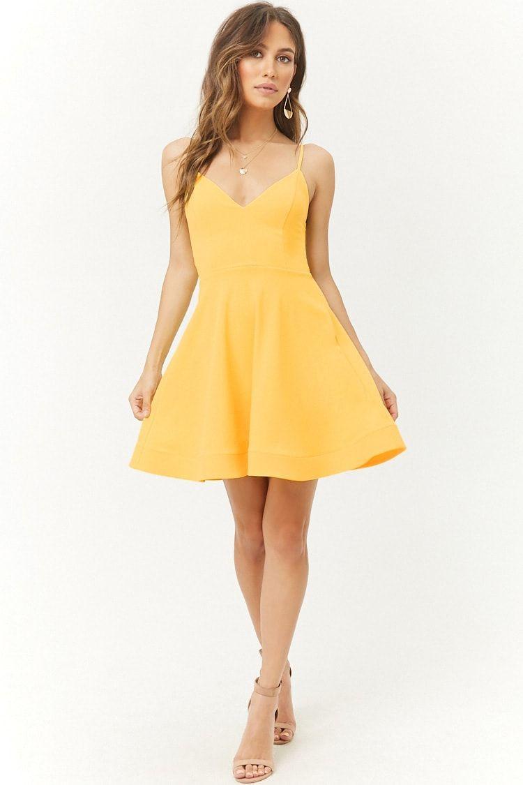 Fit Flare Homecoming Dress Cute Short Dresses Pretty Dresses Hoco Dresses [ 1125 x 750 Pixel ]