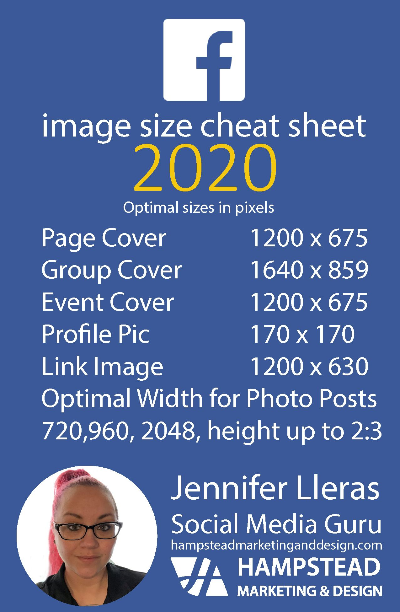 Your Facebook Image Size Quick Guide for 2020 in 2020