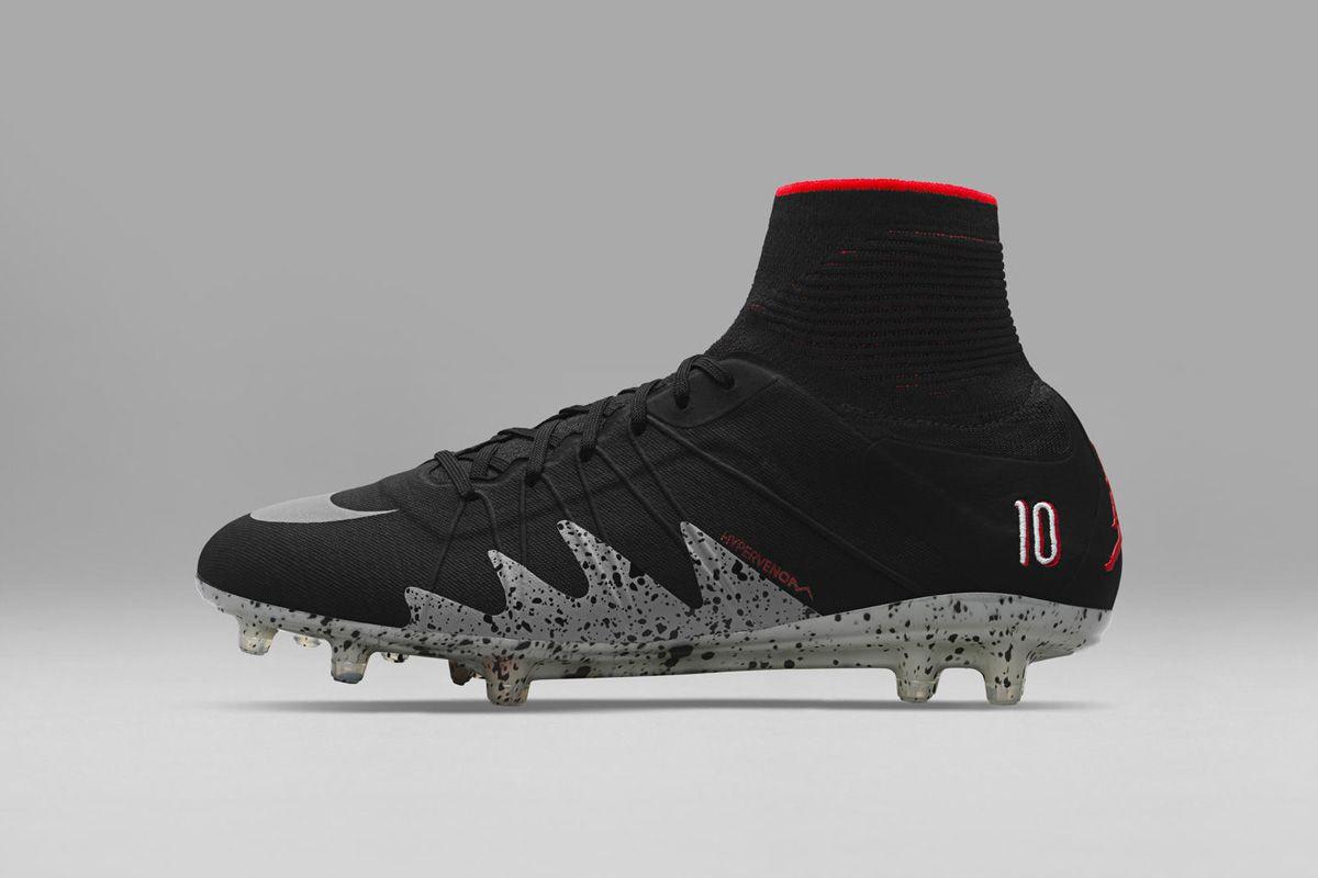 promo code f91d4 e3e90 Aquí los nuevos NJR x Jordan Hypervenom 2 Tacos De Fútbol, Moda Hombre,  Modelo