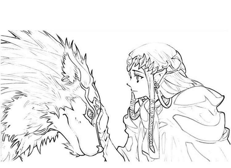 Zelda Twilight Princess Coloring Pages Princess Coloring Pages Princess Coloring Shark Coloring Pages